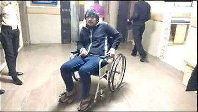 'Karate champion' wife beaten husband and broke his leg, says,