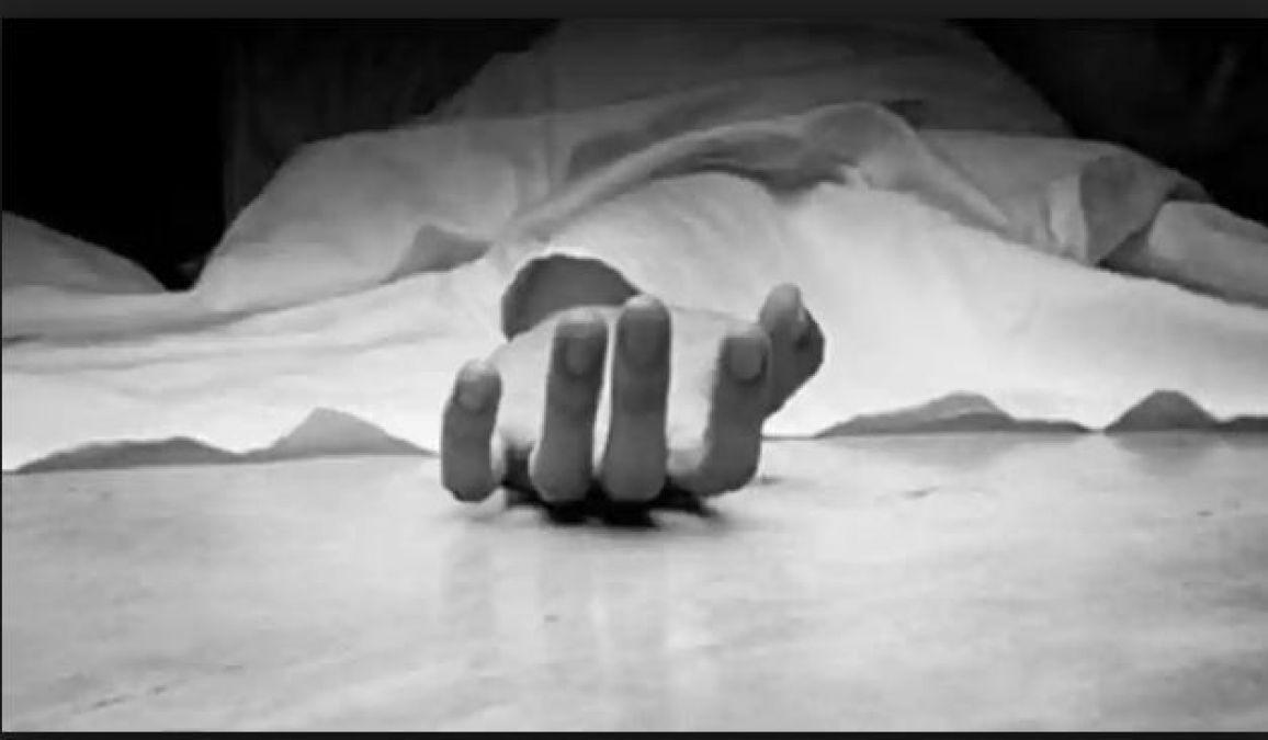 ब्लेड से गला रेतकर पति ने की पत्नी की हत्या