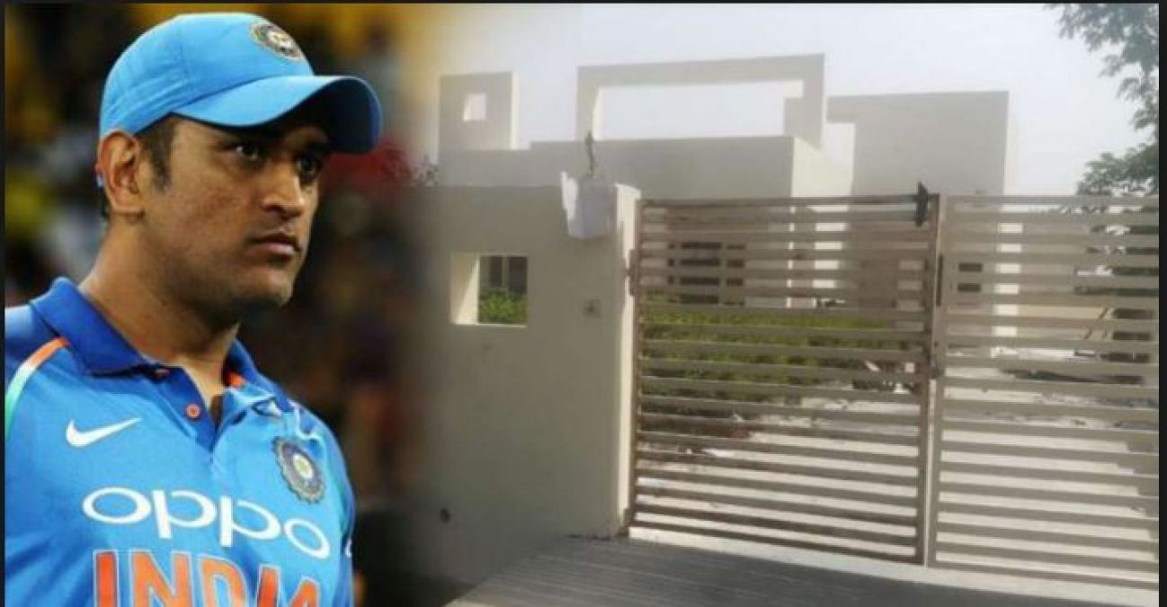 Police arrested thieves who stole LED TV from Dhoni's house
