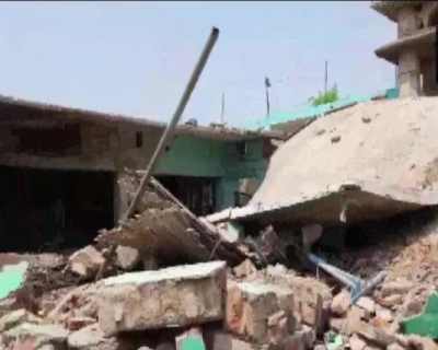 Madarsa collapsed in Bihar's Banka district due to explosion, speculation of bomb blast