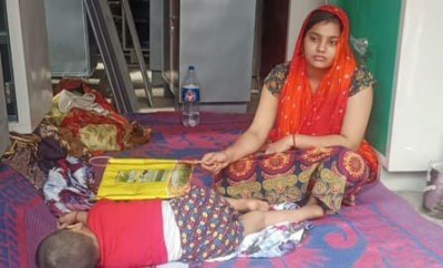 Wife staged 'Dharna' after husband's death, know her painful story