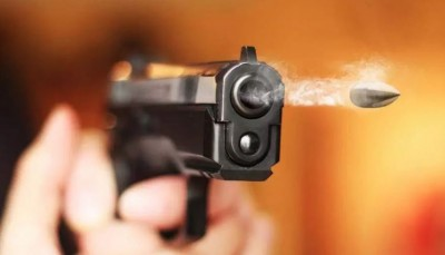 Husband fired bullet at wife as she filed complaint in police station