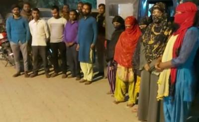 Hardoi police bustes escort services, 5 girls arrested