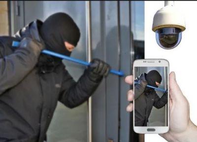 चोरों ने कांच तोड़ दुकान का माल किया साफ़, पुलिस हुई नाकाम