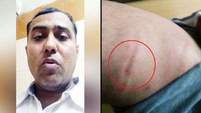 ASI beat restaurant manager badly due to delay in food delivery