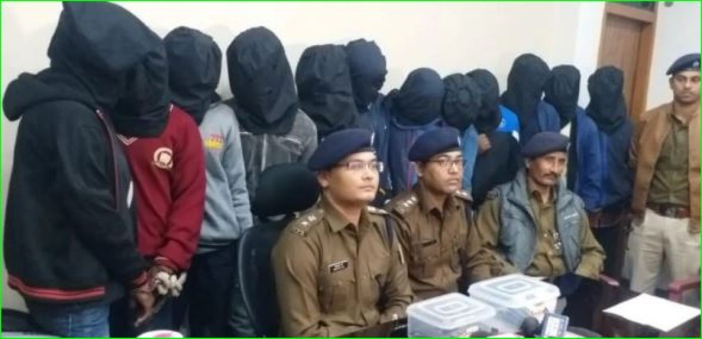 12 people gang-raped with a student by showing gun, arrested