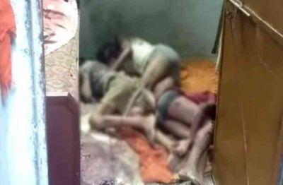 एक ही घर में हुई पिता और चार बच्चो की मौत