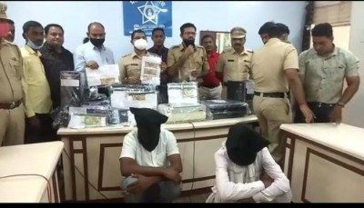 Maharashtra: Police arrested 2 youth for printing fake currency factory in Dhule