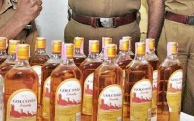 Police arrested liquor smugglers, 45 lakh illegal liquor seized