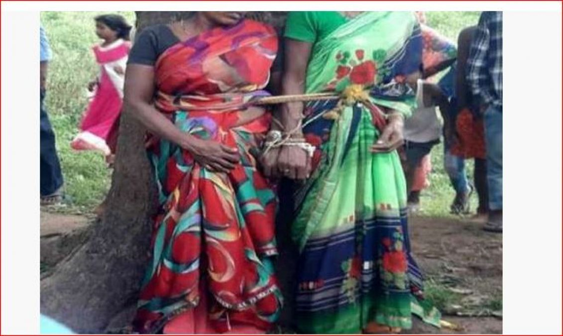 Two sisters tied up and beaten due to a rumour, dozens of people arrested