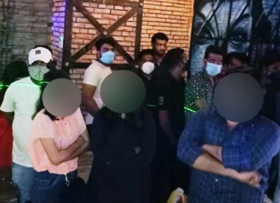 Ghaziabad: 50 arrested during police raid in connection with illegal hookah smoking