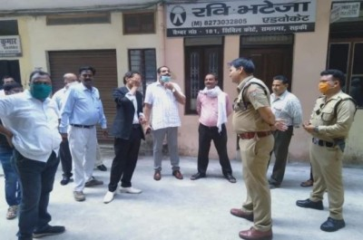 Advocate shot in public court in Roorkee
