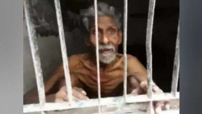 Son blinded by greed for property, imprisoned father, kept hungry and thirsty for several days