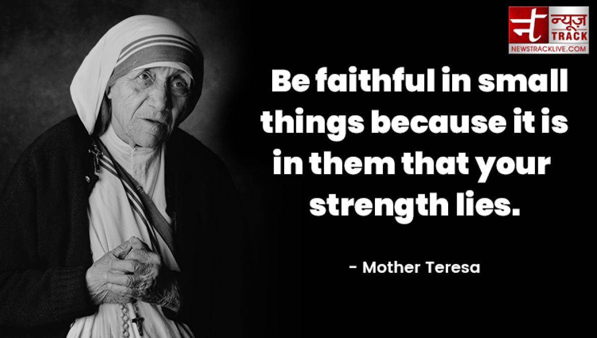 Top 10 Mother Teresa Inspiring Quotes