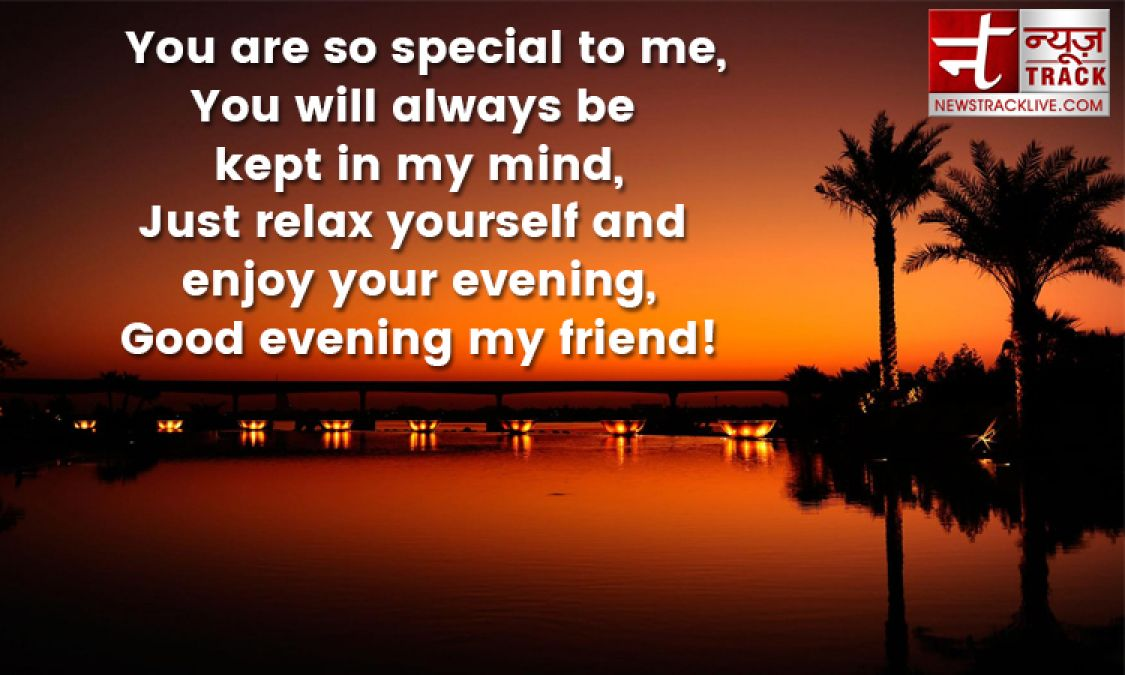 See the Best Good Evening Messages Collection