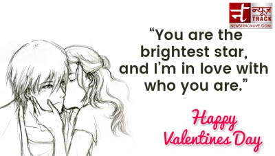 Happy Valentines Day Quotes and greetings with wallpaper for your Lover and  Friends