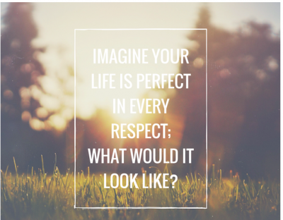 Imagine Your Life Is Perfect In Every Respect, Inspirational Priceless quotes