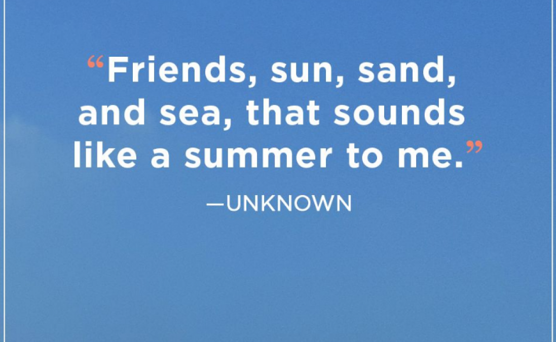 Beautiful summer quotes and text messages