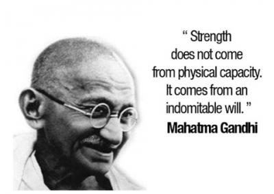 Mahatma Gandhi One Line Motivational Quotes