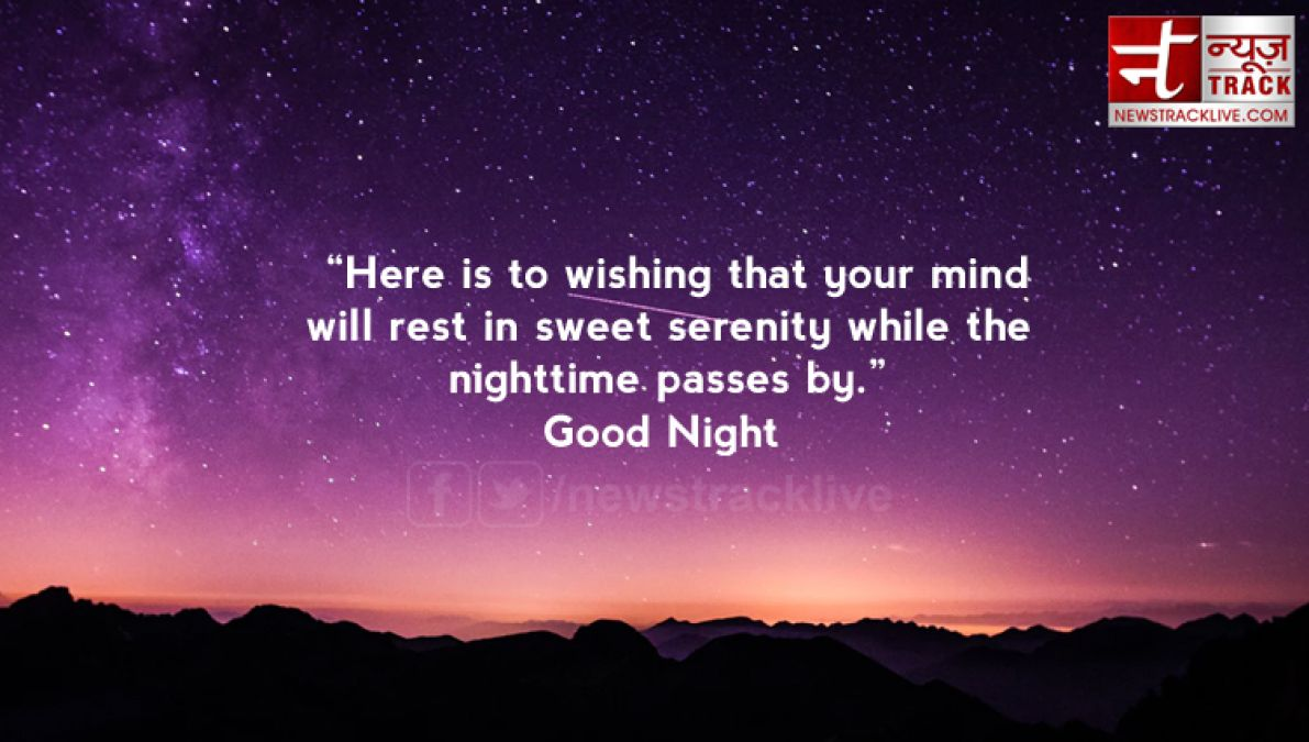 Best Collection of Good Night Status in English