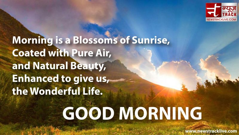 Morning is a Blossoms of Sunrise