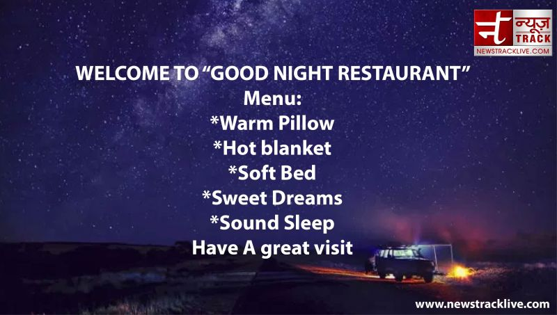 """WELCOME TO """"GOOD NIGHT RESTAURANT"""