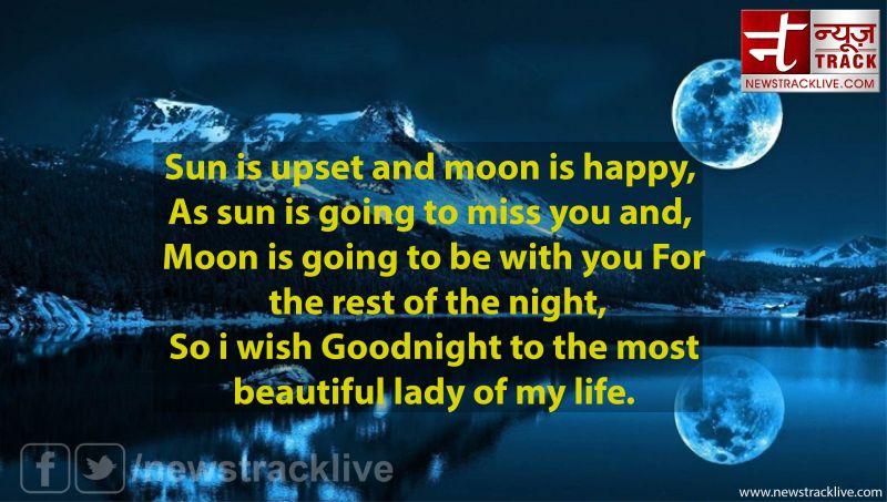 Sun is upset and moon is happy