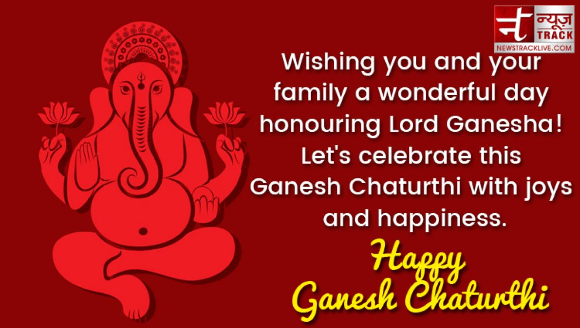 Happy Ganesh Chaturthi 2019: happy Ganesh Chaturthi wishes, messages, SMS &  greetings cards