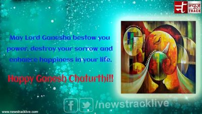 May Lord Ganesha bestow you power