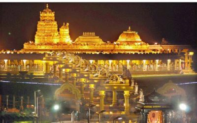 Tirupati Balaji Temple got a largest one-day donation in 2000 years