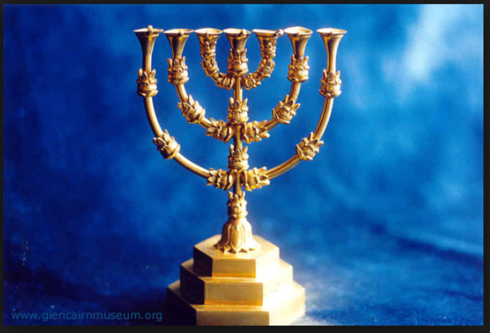 Golden Lampstand: Tabernacle lamp for the holy place; characteristics and symbolism