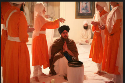 Amrit Baptism of Sikh: Sikh rebirth rituals to begin Khalsa initiation ceremony