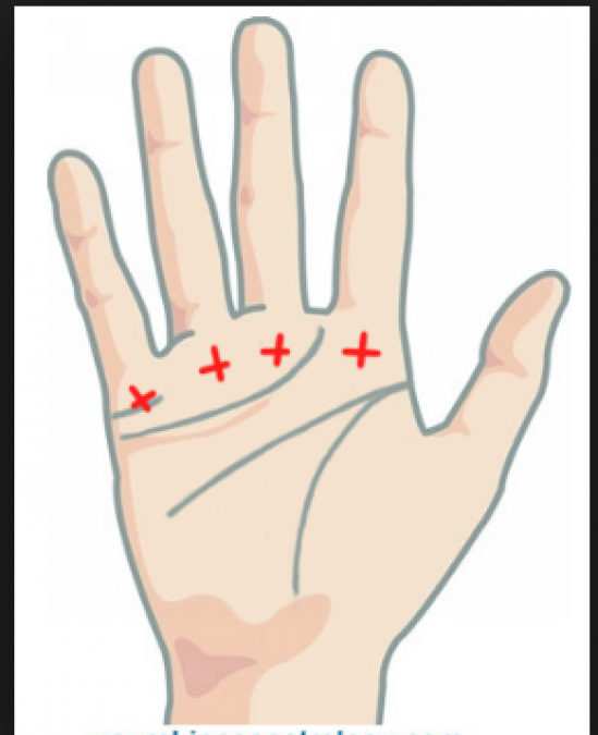 Palmistry: People having these sign on Palm consider having luck on hand