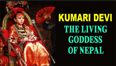 A living goddess of Nepal: Kumari Devi, a deified young girl