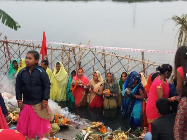 4-day Chhath Festival to conclude today with worshiping to the rising sun