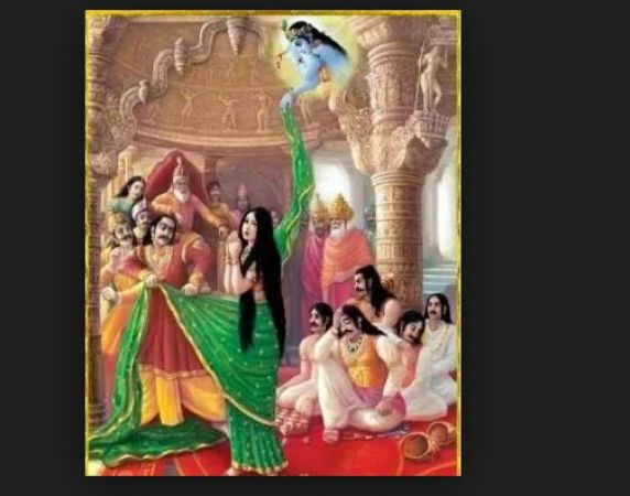 चीरहरण के साथ ही एक बार और श्रीकृष्ण ने बचाई थी द्रौपदी की लाज, जानिए पौराणिक कथा