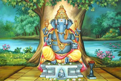 Why Lord Ganesha got his elephant head?