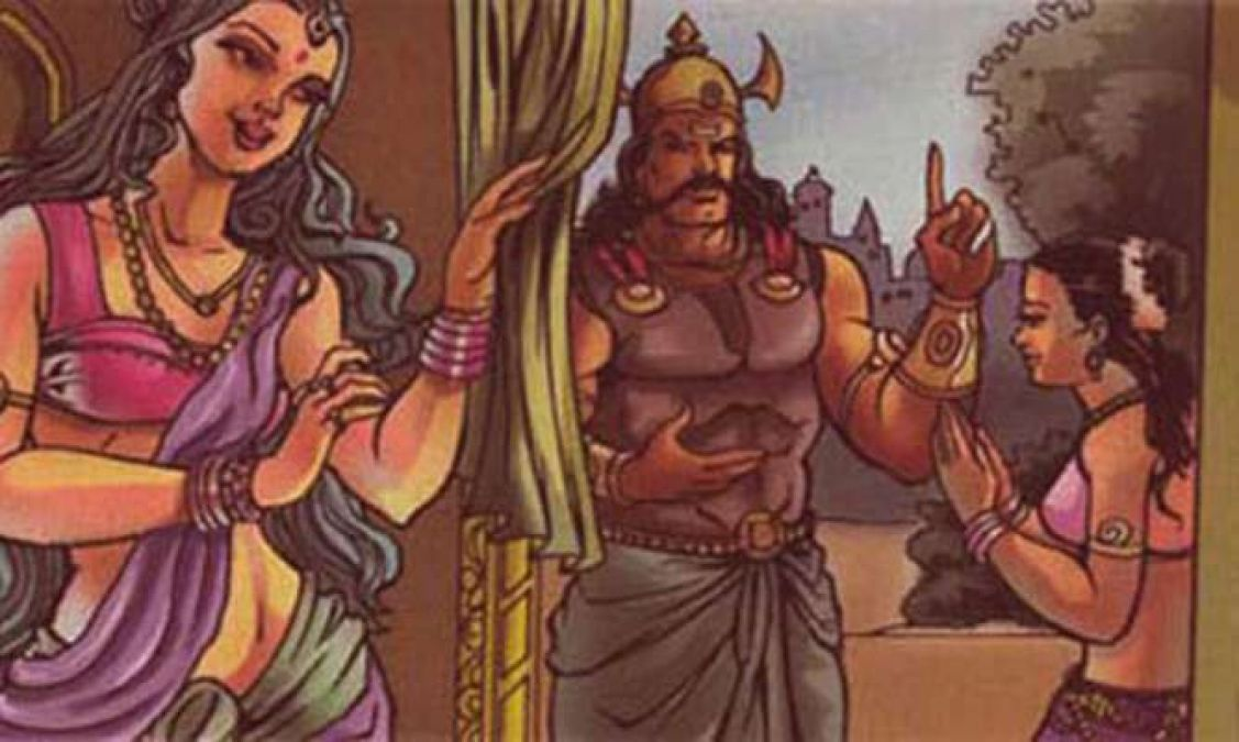 Ravana's apocalypse was caused by the curse of Shurpanakha!