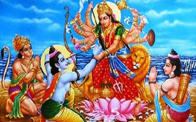 Dussehra story: Shri Ram offered his eyes to Goddess Durga