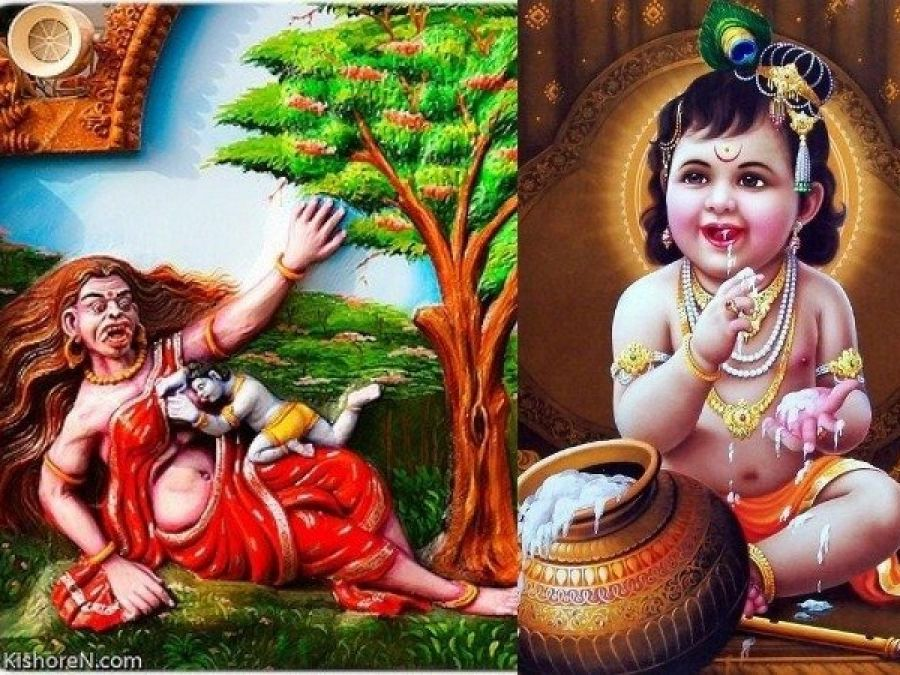 This is how Shri Krishna killed Putna, Know the Story!