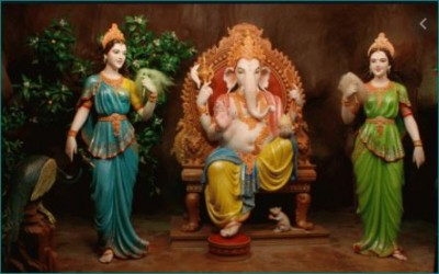 Why Ganesha has two wives? Must read this legend