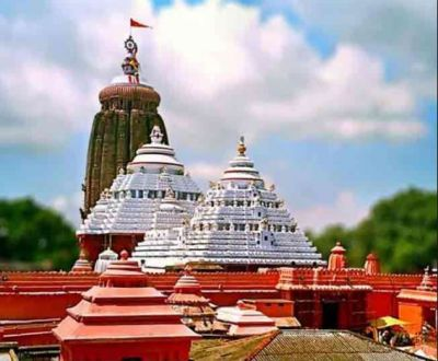 Flag of the Jagannath Temple always waves in opposite direction of the wind