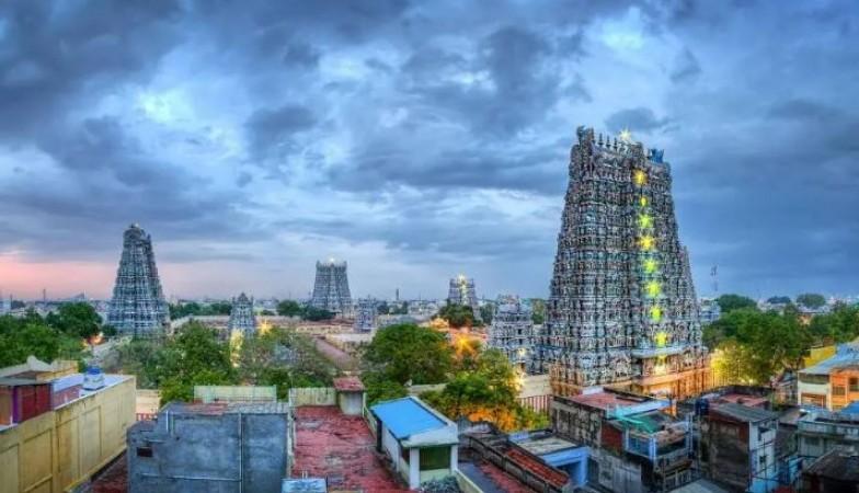 मदुरै मीनाक्षी मंदिर में पार्वती के लिए बनाया जाएगा मिट्टी का फ्लोर