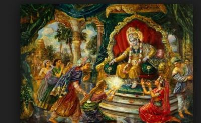 For this reason, Shri Krishna leaves Kansa's father-in-law in the war, again and again,