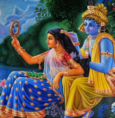 For this reason, even after extreme love and affection can't get married, Radha and Krishna