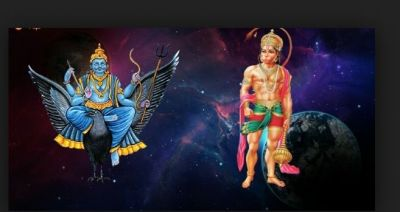 For this reason, Hanumanji's devotees never face curved vision of Saturn