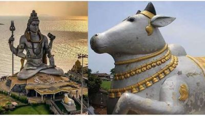 Because of this reason in the temple of Shiva, Nandi statue definitely present