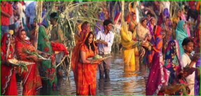 Due to this, Arghya is given to the sun on the Chhath festival