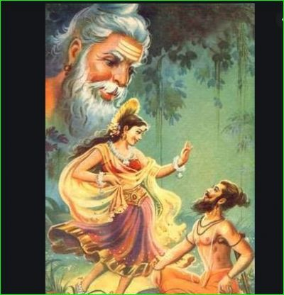 Not Menka, but this was the reason for dissolving the asceticism of Vishwamitra
