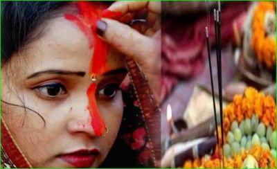 इस वजह से छठ पूजा पर महिलाएं क्यों लगाती हैं लंबा सिंदूर